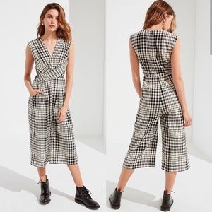 Urban Outfitters Surplus Gingham Jumpsuit